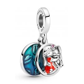 Pandora 799383C01 Dangle Charm Lilo & Stitch Family