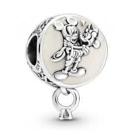 Pandora 799395C01 Silver Charm Mickey & Minnie Mouse Eternal Love