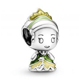 Pandora 799510C01 Silber Charm Disney Prinzessin Tiana und der Frosch