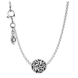Pandora 79893 Ladies Necklace Hearty