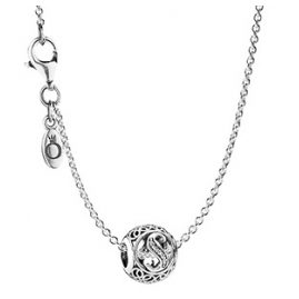 Pandora 35483 Necklace with Letter S