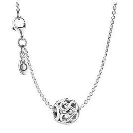 Pandora 08050 Halskette mit Anhänger Unendlichkeit