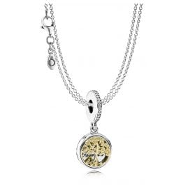 Pandora 08381 Silver Necklace Family Tree Pendant