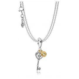 Pandora 08393 Collier mit Anhänger Schlüssel zu meinem Herzen