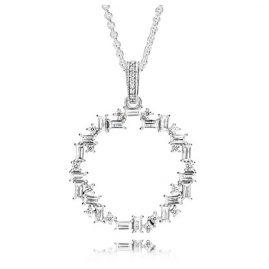 Pandora 397546CZ-45 Ladies' Necklace Shards of Sparkle