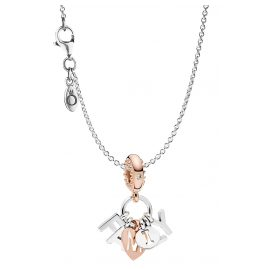 Pandora 75393 Necklace with Pendant Perfect Family Silver 925