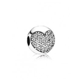 Pandora 791053CZ Silver Clip Stopper Heart
