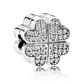 Pandora 791805CZ Blüten der Liebe Silber Clip