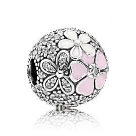 Pandora 792084CZ Clip-Element Malerische Blüten