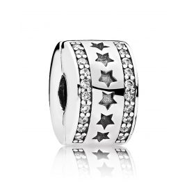Pandora 796381CZ Clip-Element Sternenformation