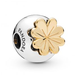 Pandora 768000CZ Shine Clip-Element Shining Clover
