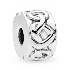 Pandora 798035 Clip Element Knotted Hearts