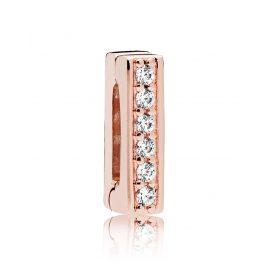 Pandora 787633CZ Reflexions Clip Charm Timeless Sparkle Rose