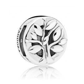 Pandora 797779 Reflexions Clip Charm Tree of Life Silver