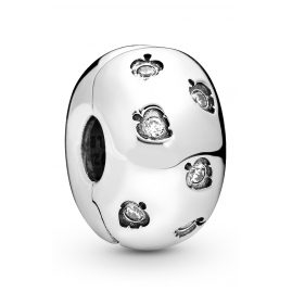 Pandora 798345CZ Clip-Element Sparkling Leaves