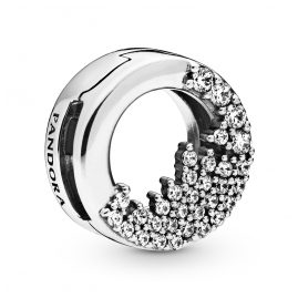 Pandora 798475C01 Reflexions Silber Clip Charm Sparkling Icicles