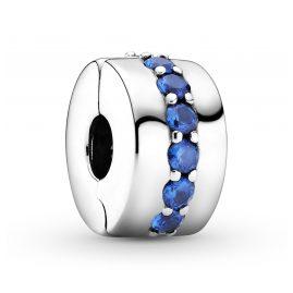 Pandora 791972C01 Clip-Charm Blau Scheinender Pfad