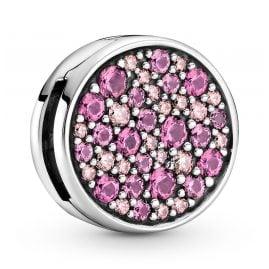 Pandora 799362C01 Reflexions Clip Charm Pink Pavé Limited Edition