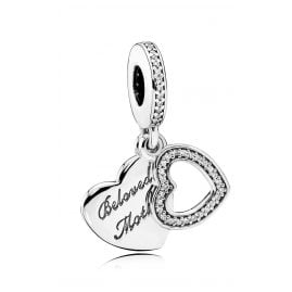 Pandora 791883CZ Charm Pendant Beloved Mother