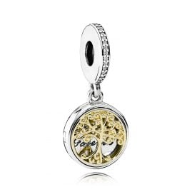 Pandora 791988CZ Charms Pendant Vintage Family Roots