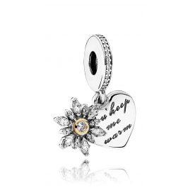 Pandora 792012CZ Charms Pendant Snowflake Heart