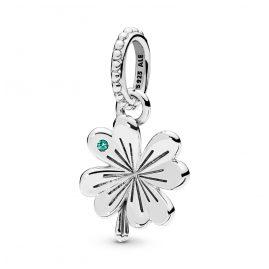 Pandora 397965NAG Anhänger Lucky Four-Leaf Clover
