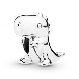 Pandora 798123 Charm Dino der Dinosaurier Silber 925