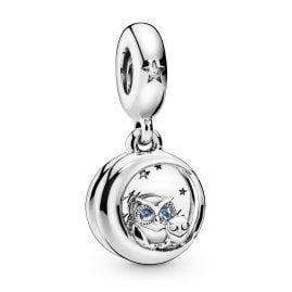 Pandora 798398NBCB Charm Pendant Always by Your Side Owl