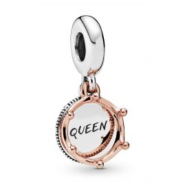 Pandora 788255 Rose Charm-Anhänger Queen & Regal Crown
