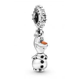 Pandora 798455C01 Silber Charm-Anhänger Disney Frozen Olaf