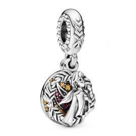 Pandora 798457C01 Silber Charm-Anhänger Disney Frozen Anna