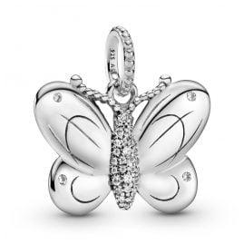 Pandora 397933CZ Silver Pendant Butterfly