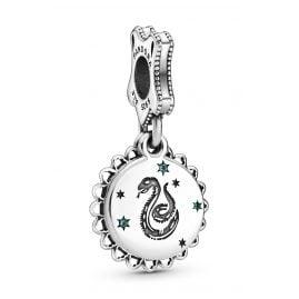 Pandora 798620C01 Silber Charm-Anhänger Harry Potter Slytherin