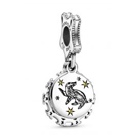 Pandora 798832C01 Silver Dangle Charm Harry Potter Hufflepuff