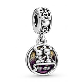 Pandora 798866C01 Dangle Charm Mickey & Minnie Happily Ever After