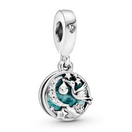 Pandora 798895C01 Silver Dangle Charm Stork & Twinkling Stars