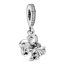 Pandora 798896C01 Silver Dangle Charm Married Couple