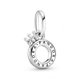 Pandora 399043C00 Offener Pandora Crown O Anhänger Silber