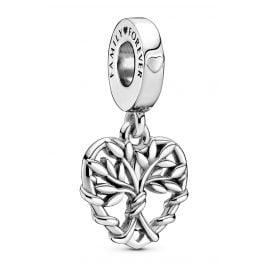 Pandora 799149C00 Silber Charm-Anhänger Herz Familienbaum