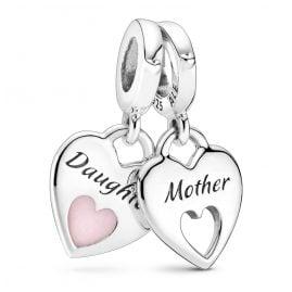 Pandora 799187C01 Silber Charm-Anhänger Mutter & Tochter