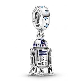 Pandora 799248C01 Silber Charm-Anhänger R2-D2
