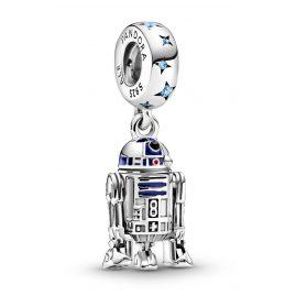 Pandora 799248C01 Silver Dangle Charm R2-D2