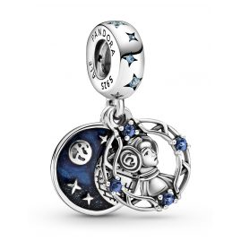 Pandora 799251C01 Silver Dangle Charm Princess Leia