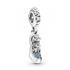 Pandora 799192C01 Charm-Anhänger Disney Cinderella Schuh & Mäuse Silber