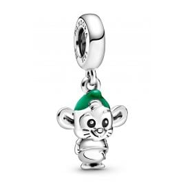 Pandora 798849C01 Dangle Charm Disney Cinderella Mouse Gus Silver
