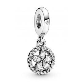 Pandora 799222C01 Charm-Anhänger Funkelnde Schneeflocke Silber