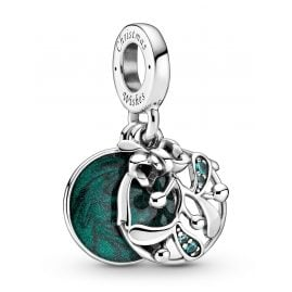 Pandora 799229C01 Dangle Charm Christmas Mistletoe Silver