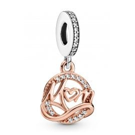 Pandora 789374C01 Dangle Charm Mum Two-Tone