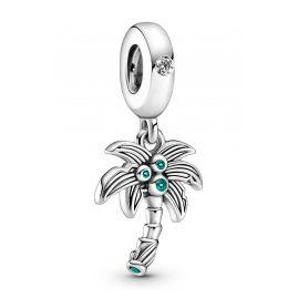 Pandora 799438C01 Charm-Anhänger Palme und Kokosnüsse Silber