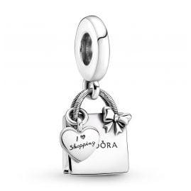 Pandora 799536C00 Silber Charm-Anhänger Einkaufstasche